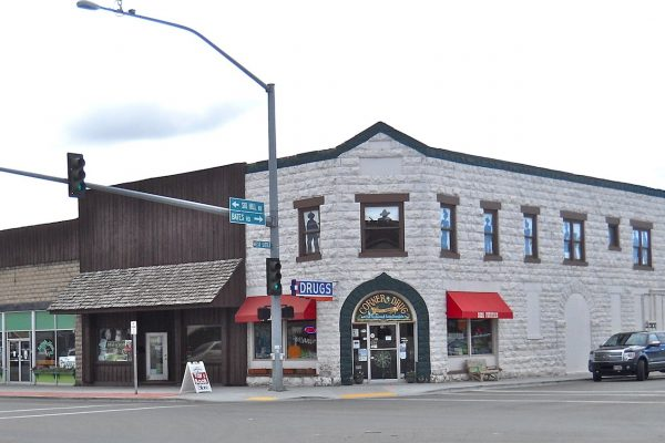 Driggs Idaho corner store - Driggs security systems