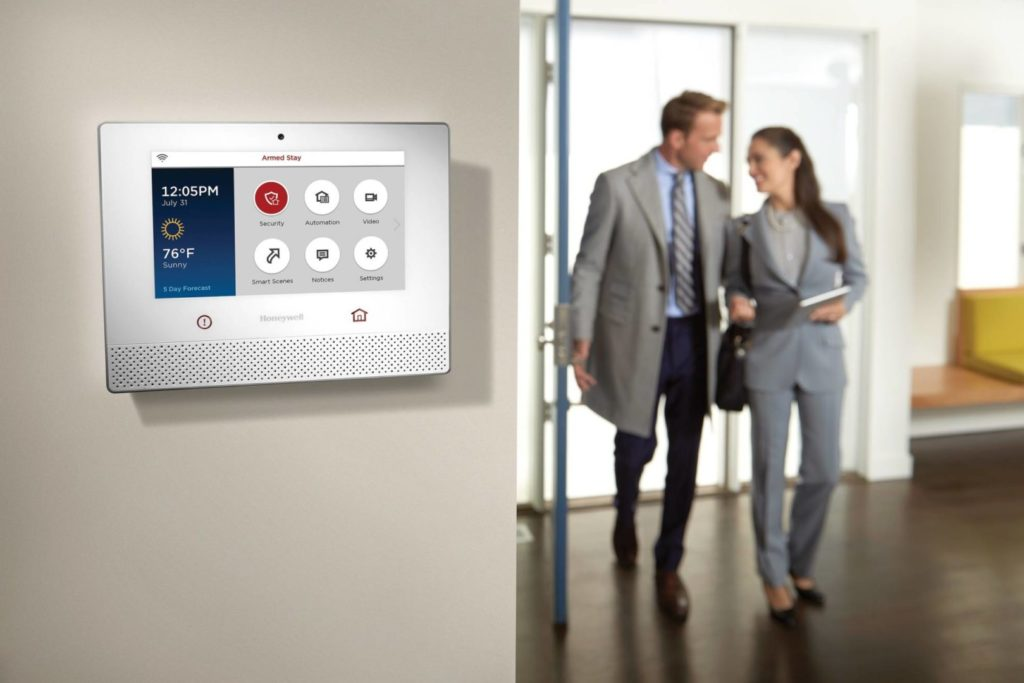 Home Security Equipment control panel